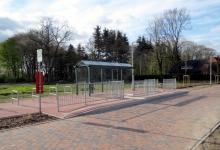 Einweihung der Bushaltestelle