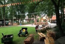 Aufbau Mittelaltermarkt